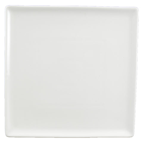 White Tie Flush Square Plate, 8