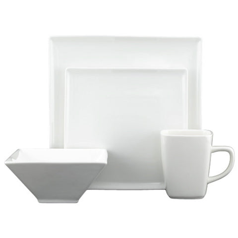 Flush Dinnerware Set, 16 Pieces