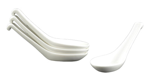 White Tie Casablanca Spoon Set, Set of 4
