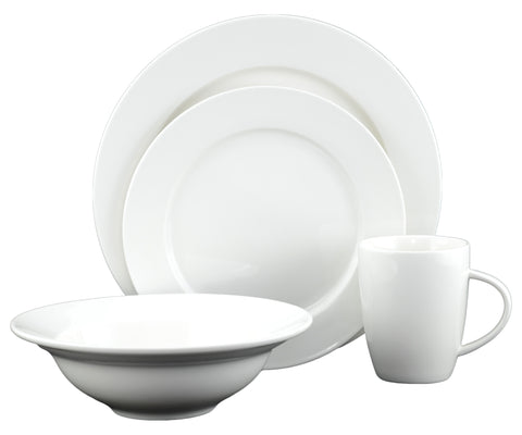 Caterer Dinnerware Set, 16 Pieces