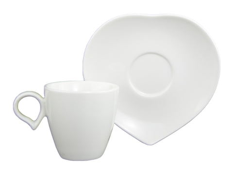 Du Lait February Espresso Cup and Saucer