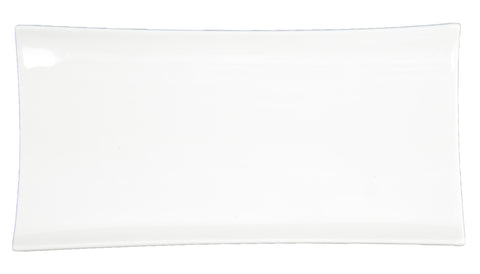 Du Lait Rectangle Medium Plate, 10