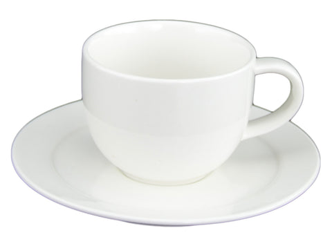 Du Lait Lunar Cup and Saucer, Set of 2