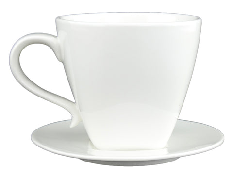 Du Lait Large Cup and Saucer