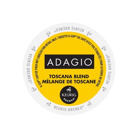 Adagio Toscana Blend Single Serve K-Cup® Coffee, 96 Pack