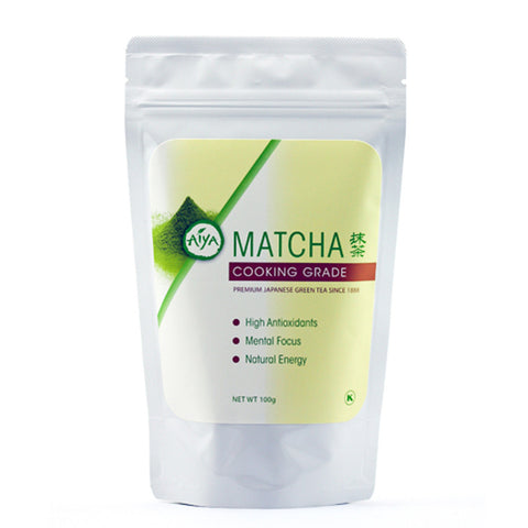 Aiya Cooking Grade Matcha, 100g bag