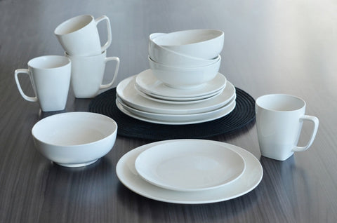 Coupe Dinnerware Set, 16 Pieces