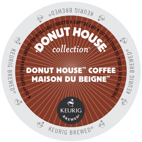 Donut House Collection® Donut House Coffee Single Serve K-Cup®, 96 Pack