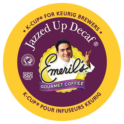Emeril® Jazzed Up Decaf Single Serve K-Cup®, 96 Pack