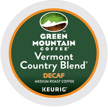 Green Mountain Coffee® Vermont Country Blend Decaf Single Serve K-Cup®, 96 Pack