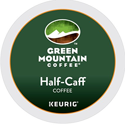 Green Mountain Coffee® Half-Caff Single Serve K-Cup®, 96 Pack