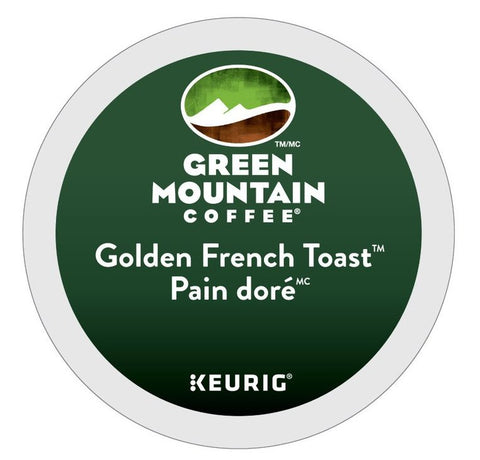 Green Mountain Coffee® Golden French Toast Single Serve K-Cup®, 96 Pack