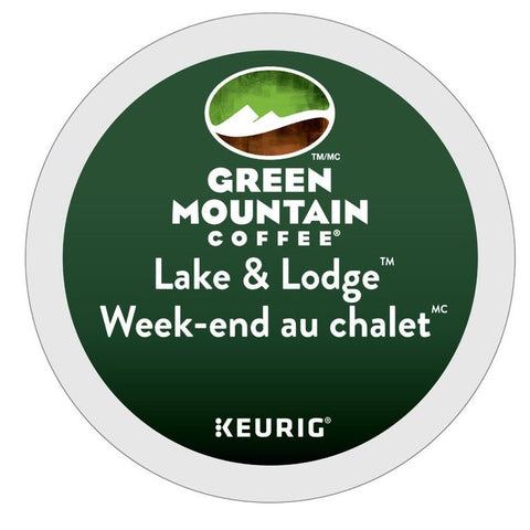Green Mountain Coffee® Lake & Lodge® Single Serve K-Cup®, 96 Pack