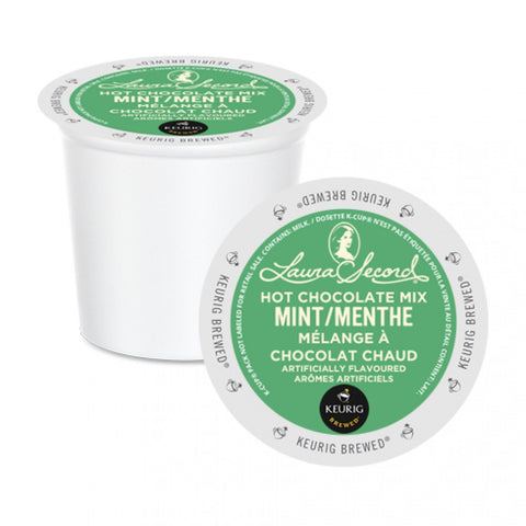 Laura Secord® Mint Hot Chocolate Mix Single Serve K-Cup®, 96 Pack