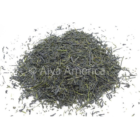 Aiya Deep Steam Sencha Loose Leaf Tea, 500g bag