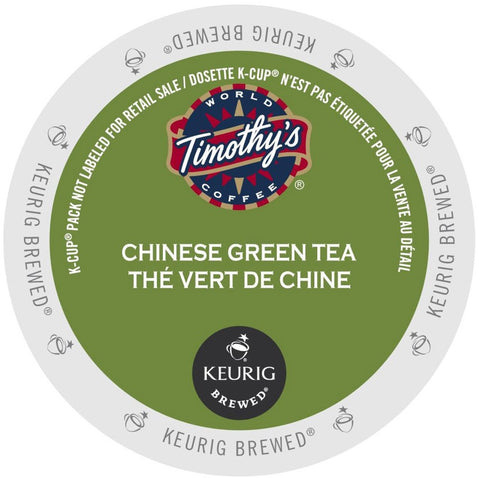 Timothy's® Chinese Green Tea Single Serve K-Cup®, 96 Pack