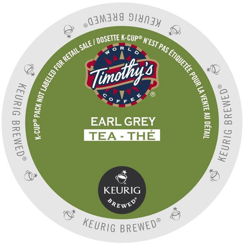 Timothy's® Earl Grey Tea Single Serve K-Cup®, 96 Pack