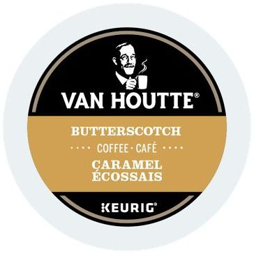 Van Houtte® Butterscotch Single Serve K-Cup®, 96 Pack
