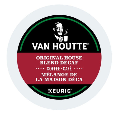 Van Houtte® Decaf Original House Blend Single Serve K-Cup®, 96 Pack