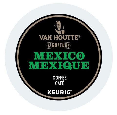Van Houtte® Mexico Fair Trade Organic Single Serve K-Cup®, 96 Pack