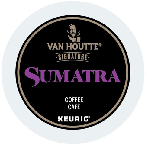 Van Houtte® Sumatra Fair Trade Extra Bold Single Serve K-Cup®, 96 Pack