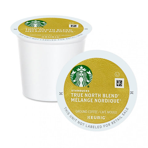 Starbucks® True North Blend® Single Serve K-Cup® Coffee, 96 Pack
