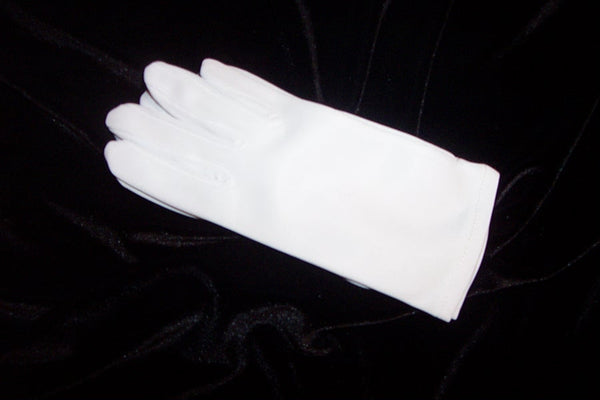 Children's matte wrist length gloves