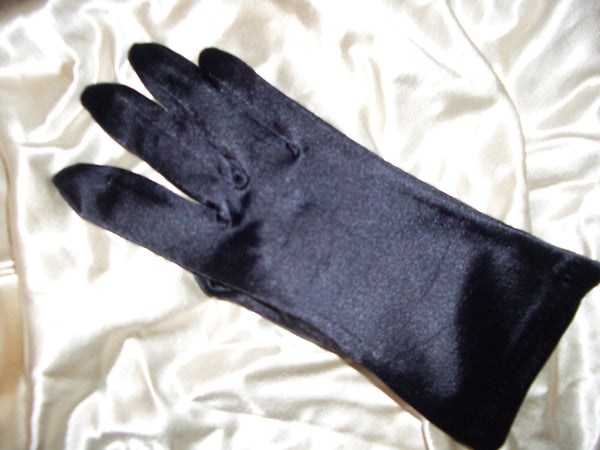 Large Size Satin Fashion Gloves