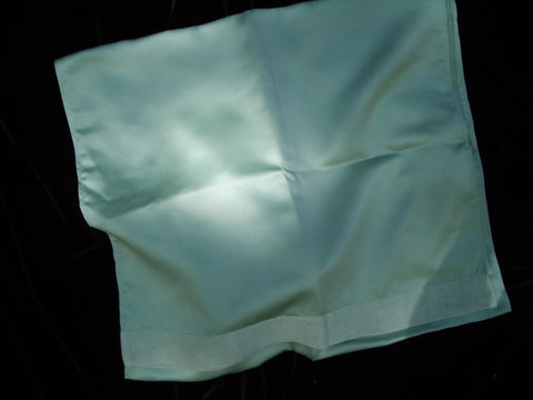 #426SH Satin Shawl w/ Chiffon Trim