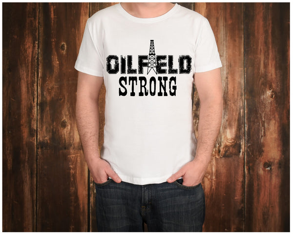 Oilfield Strong-Screen Print - RAJE
