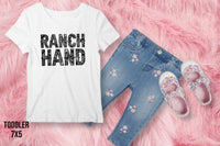 TODDLER RANCH HAND (BLACK INK) HIGH HEAT