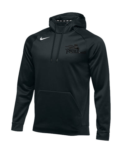 Patriot Nike Therma Hoodie W/Tone on Tone Embroidered Logo