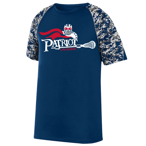 Patriot Adult and Youth Camo Tech T