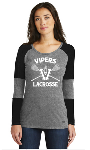 Vipers New Era® Ladies Tri-Blend Performance Tee