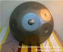 Load image into Gallery viewer, Handpan D-minor9 scale