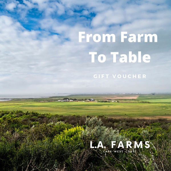 L.A. FARMS Gift Voucher