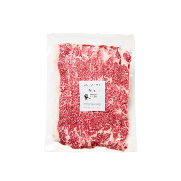 L.A. Wagyu Karubi (Thin Wagyu Short Rib Steak)