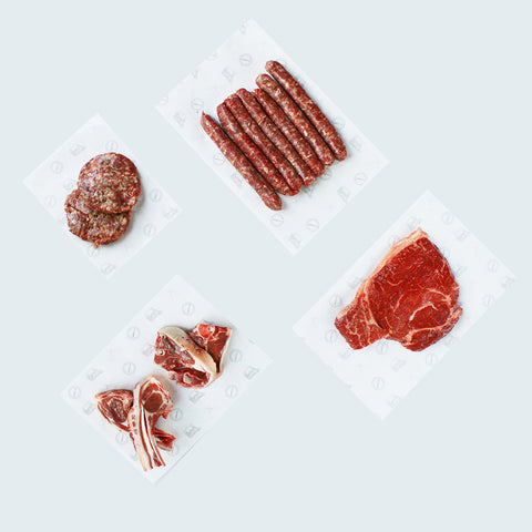 L.A. Wagyu Braai Box (includes Free Range Lamb and Grass-Fed Angus)