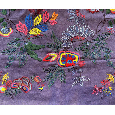 JANAVI All Over Jaal Embroidered cashmere wrap