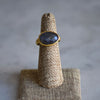 Pippa Small Kyanite Greek ring