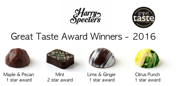 Harry Specters 2016 chocolate awrds