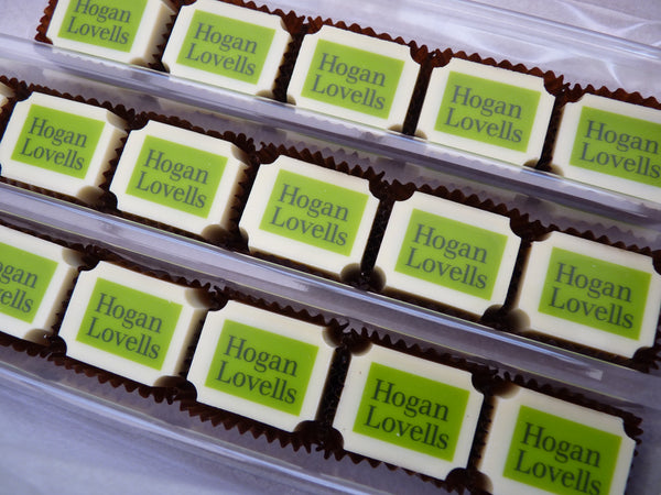 Chocolates for a social cause - Harry Specters chocolates for Hogan Lovells