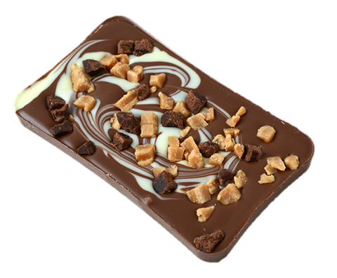 Caramel Brownie Slab