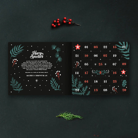 Luxury Christmas chocolate advent calendar