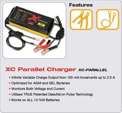 12V Parallel Only Xtreme Charge Battery Charger