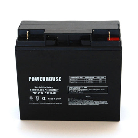 Universal Battery UB12180 with T4 Nut and Bolt