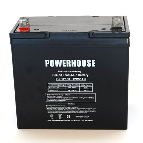 Powerhouse PH12550 (Group 22NF) with Z terminals