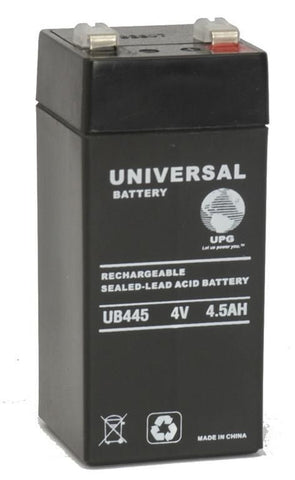 Universal Battery UB445 with F2 tabs