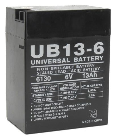 Universal Battery UB6130 TOY