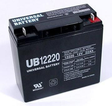 Universal Battery UB12220 with T4 Nut and Bolt